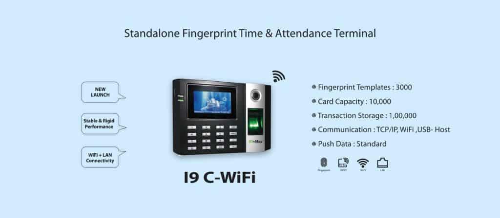 Standalone Fingerprint Time Attendance System