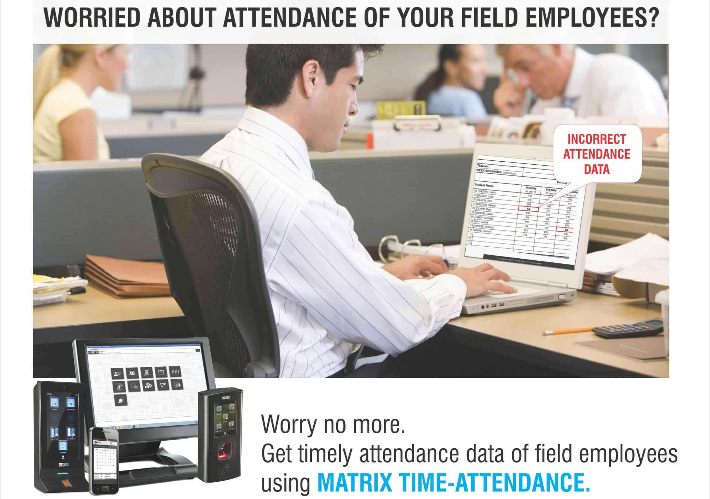 Time Attendance for Field Employees