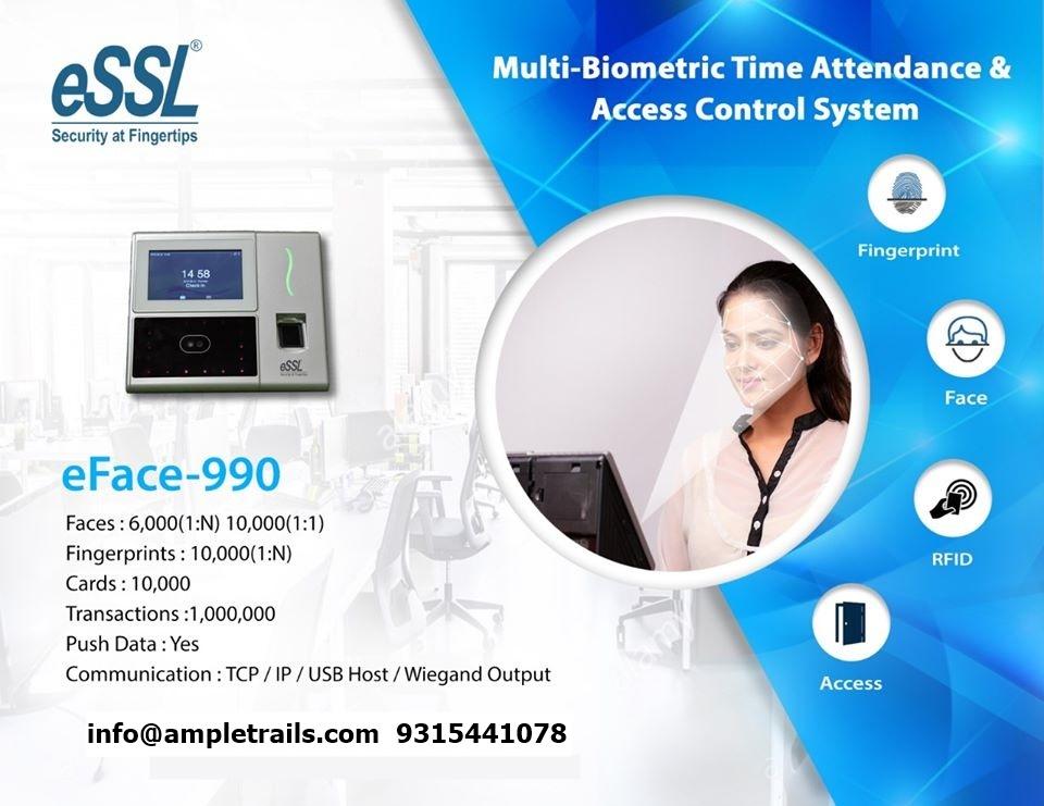 Face Attendance Machine with Fingerprint