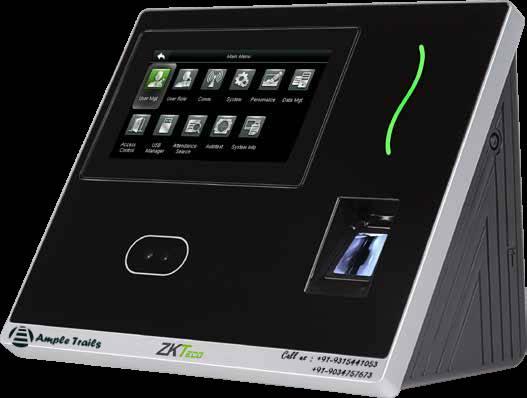 eSSL G3-H Face Fingerprint Attendance Machine