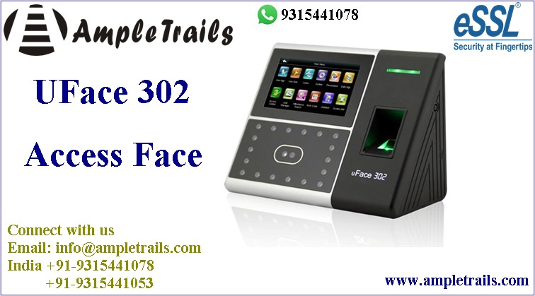 eSSL Uface Face Fingerprint Attendance Machine