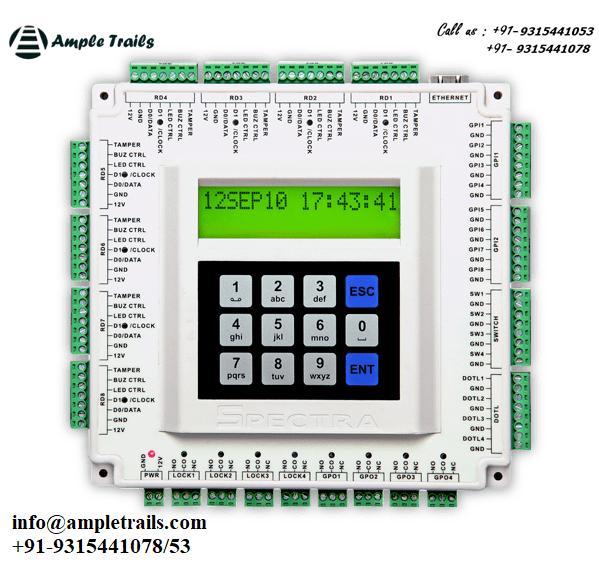 Spectra QuadXs-2C 4 Door Controller 8 Reader Door Access