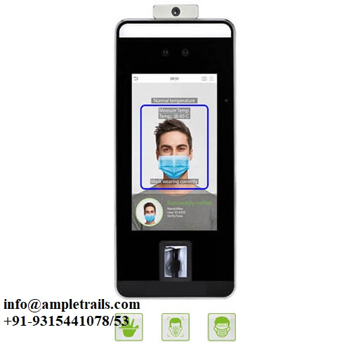 SpeedFaceV5L Face Palm vein Mask Body Temperature Detection