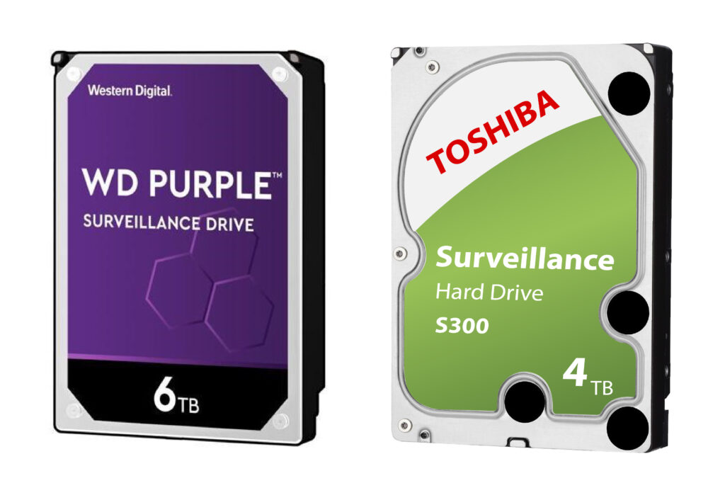 Hard disk for surveillance camera